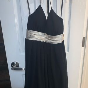 BCX black and gold party dress